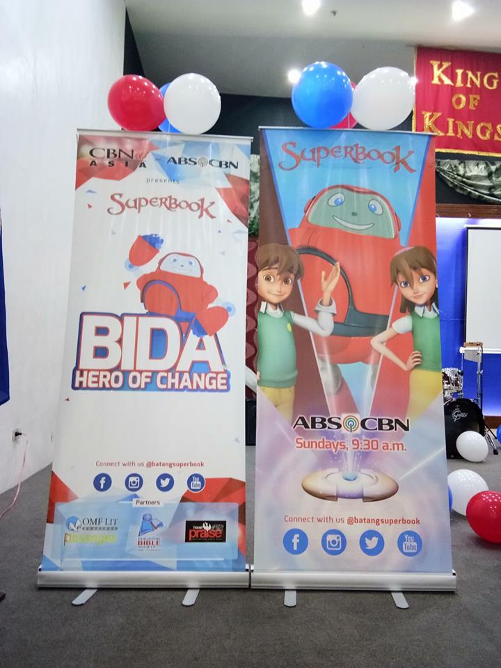 Superbook and Gizmo Visits TFCA