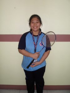 Ms. Nicole De Geron 2nd Placer SAPRISA Women's Badminton